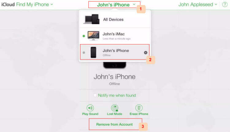 Remove Devices From Icloud Account