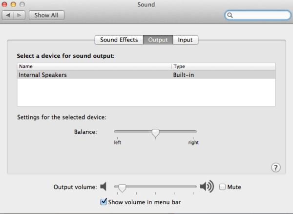 Sound Macbook