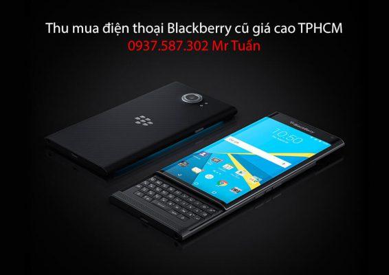Thu mua điện thoại Blackberry cũ giá cao TPHCM