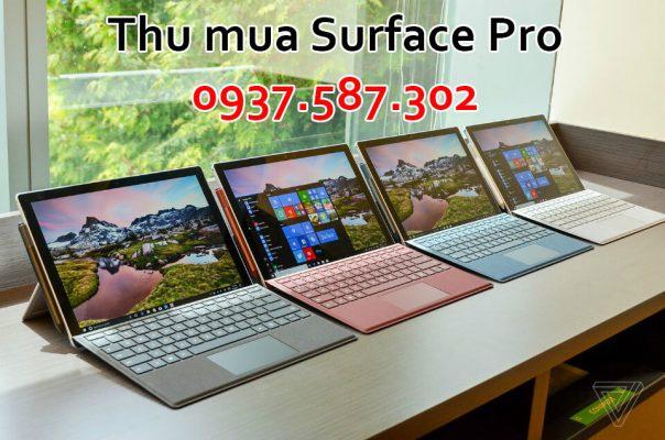 Thu mua Surface Pro cũ giá cao Tphcm