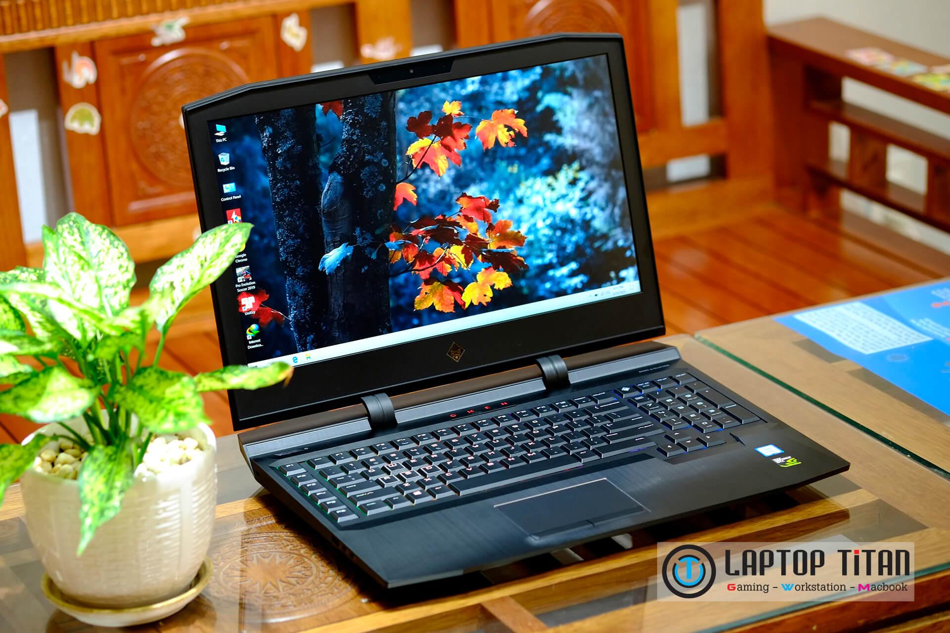 HP OMEN X 17 Core i7 7700HQ / 16GB / 256GB + 1TB / GTX 1070 8GB / 120Hz / Phím cơ RGB