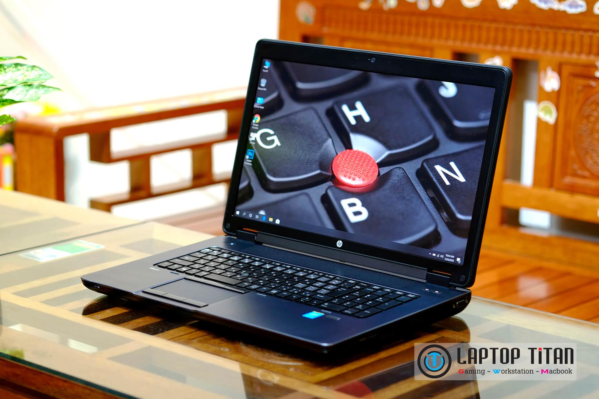 """HP Zbook 17 Core i7 4800MQ / 16GB / 256GB + 500GB / K3100M 4GB / 17.3"""" FHD"""