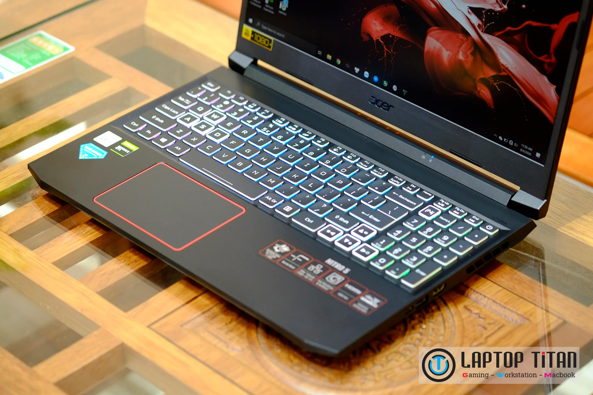 "Acer Nitro 5 2020 Core i5 10300H / 8GB / 512GB / GTX 1650 4GB / 15.6"" FHD"