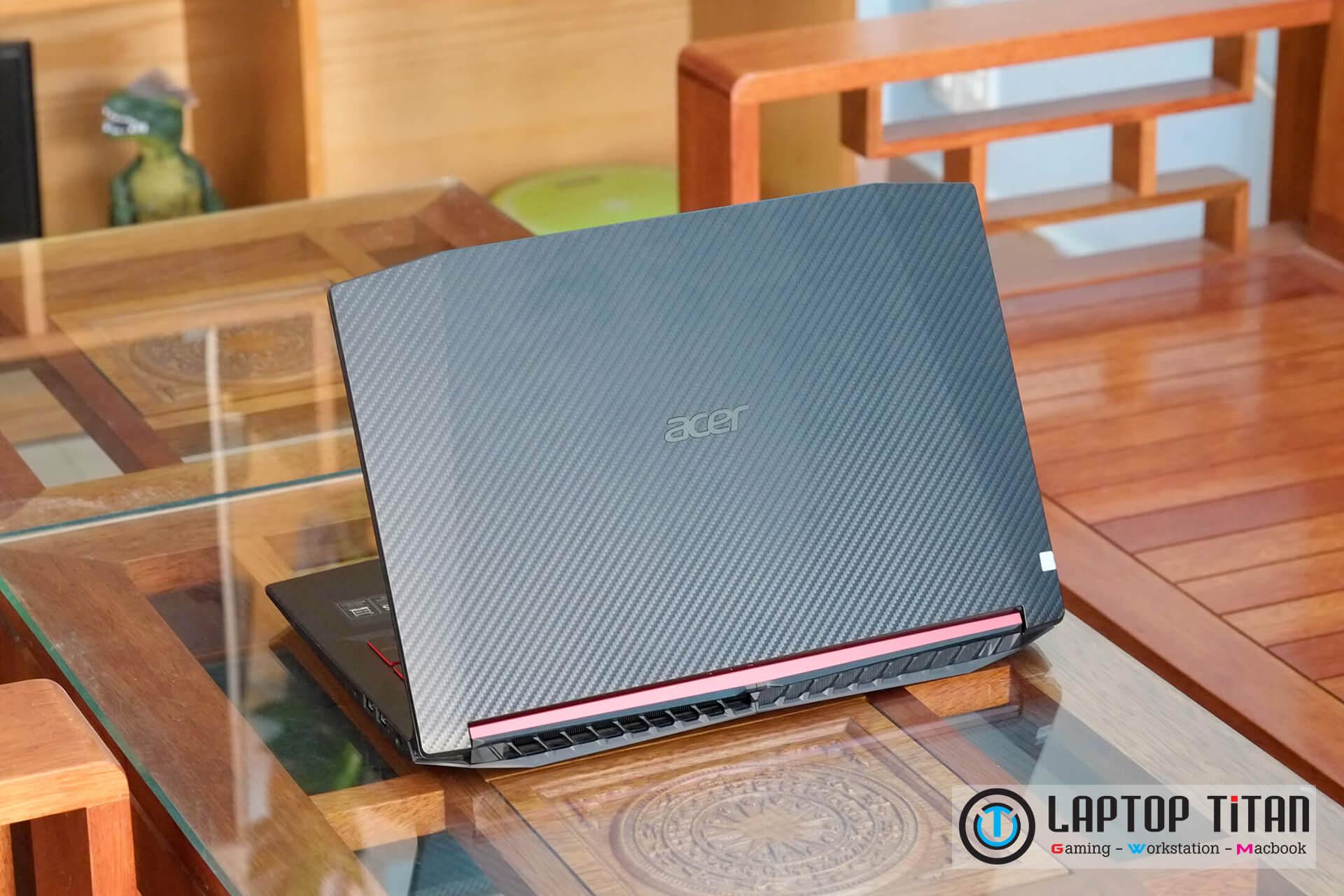 "Acer Nitro 5 Core i7 8750H / 8GB / 128GB + 1TB / GTX 1050Ti 4GB / 15.6"" FHD IPS"