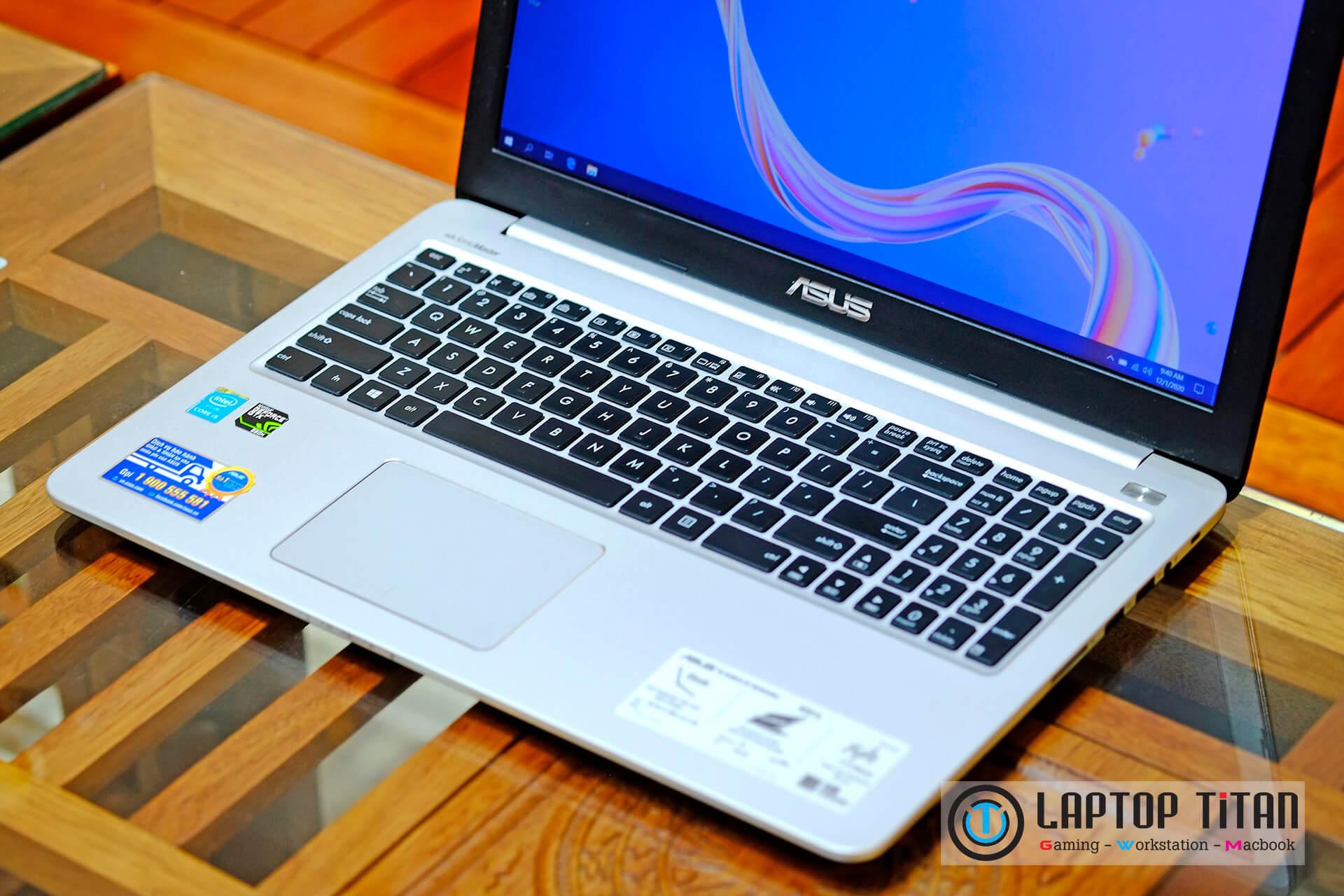 """Asus K501lx Core i5 5200u / 8GB / 128GB + 500GB / GTX 950M / 15.6"""" FHD"""