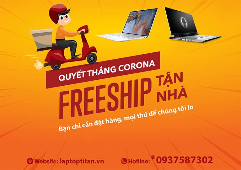 Phòng Chống Corona Cùng Laptop Titan