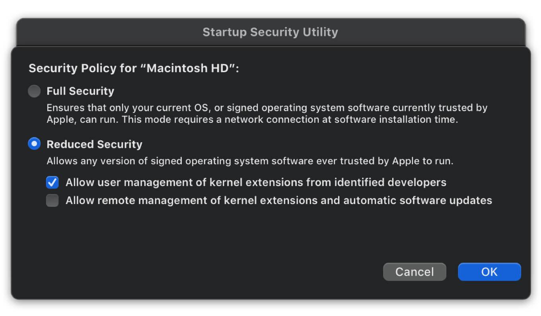 Security Macbook M1 2